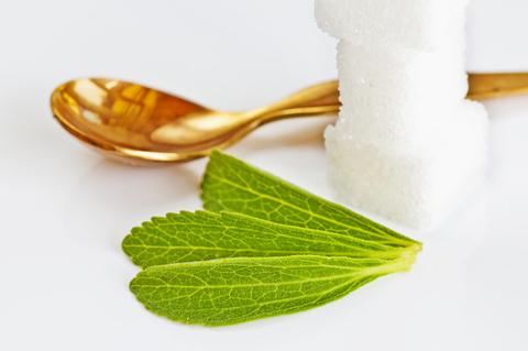 Stevia im Vergleich zu Zucker