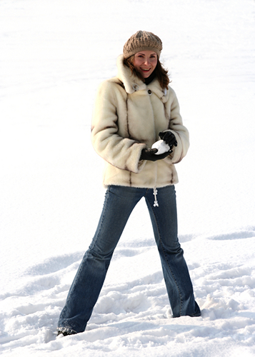 Unser Unterhautfettgewebe schützt uns vor Kälte